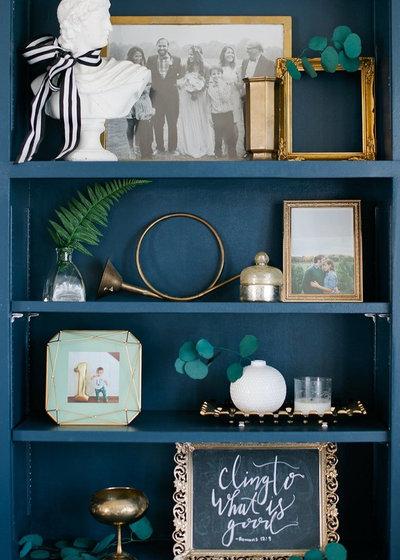 Contemporary Family Room by Shalmai Keim Interiors