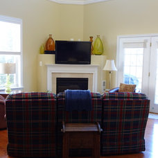 Traditional Family Room by Nest Interior Decor