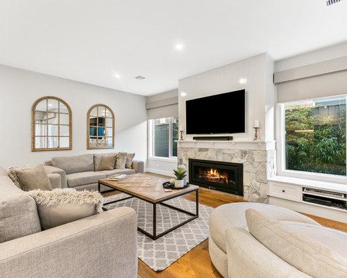 Family Room Design Ideas, Renovations & Photos