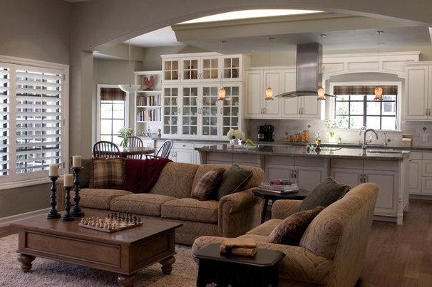 Traditional Family Room by HartmanBaldwin Design/Build