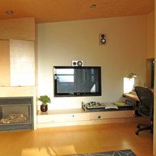 Modern Family Room by Fivedot Design Build