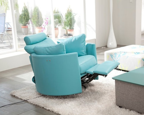 Moon Chair Power Recliner Rocker Glider Swivel by Famaliving ...