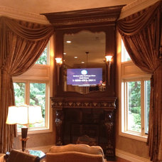 Traditional Family Room by Jennifer Ball, Allied ASID