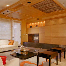 Modern Family Room by Logue Studio Design Inc.