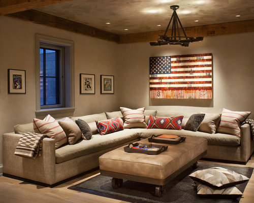 rustic family room design ideas remodels photos houzz