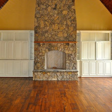 Traditional Family Room by David Acton Building Corp.