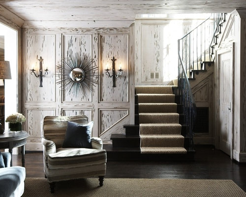 Distressed wood walls ideas pictures remodel and decor Shabby chic style interieur