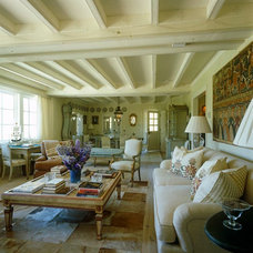 Eclectic Family Room by Lars Bolander Ltd