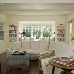 traditional family room by Arcanum Architecture