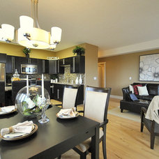Modern Family Room by Revealing Assets - Home Staging Services