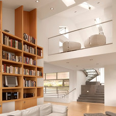 Contemporary Family Room by Jerry Kler Architects