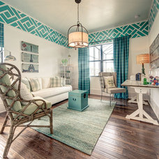 Traditional Family Room by SUSAN PETRIL, INTERIOR DESIGNS