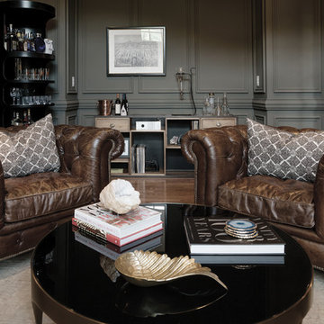 Musician's Eclectic Home-Whiskey Lounge