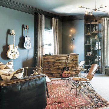 Musician's Eclectic Home-Writer's Room