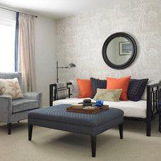 Contemporary Family Room by Vanessa Francis