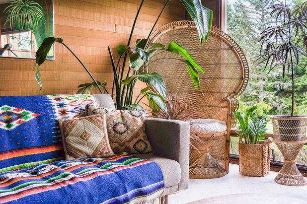 Ecléctico Sala de estar by STRUKTR Studios Photography