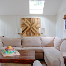 Farmhouse Family Room by Corynne Pless