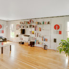 Living Room Contemporary Living Room New York By