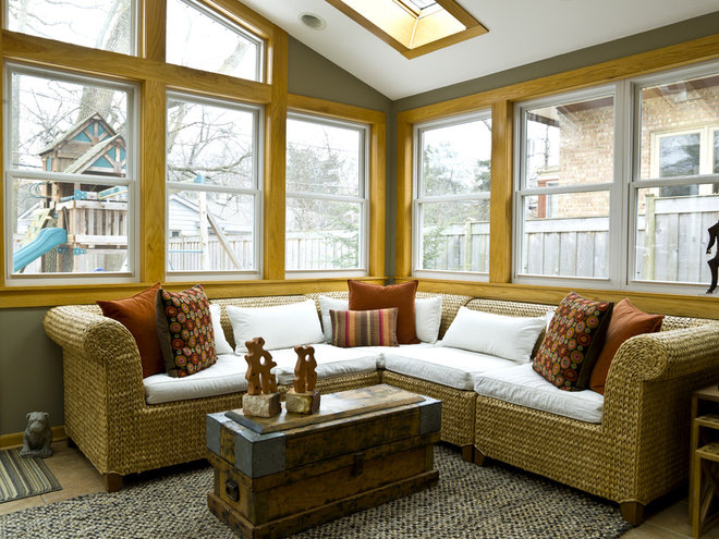 Contemporary Family Room by Cynthia Lynn Photography