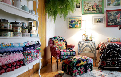 Canadian Houzz: Secondhand and Handmade Treasures Make a Charming Home