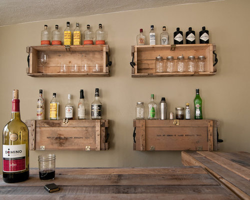 Old wooden crates as shelves ideas pictures remodel and for Shelves made out of crates