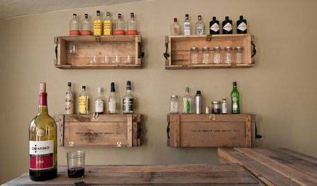 Personal Style: Cheers to These 17 Creative Home Bars