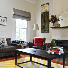 Eclectic Family Room by Luci.D Interiors