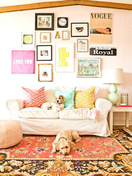 Eclectic Family Room by Cynthia Lynn Photography