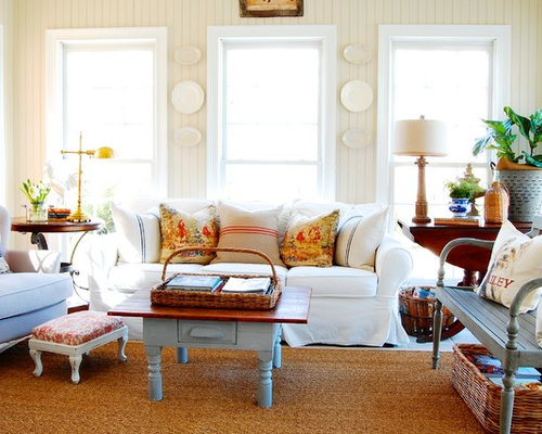 best 70 shabby-chic style family room ideas & remodeling photos