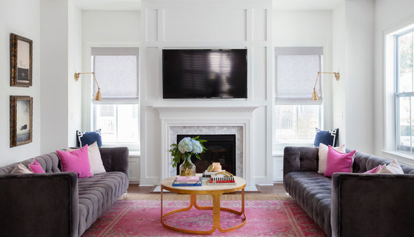 Houzz 50 best living room pictures living room design for Decorate my family room