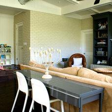Contemporary Family Room by Mina Brinkey