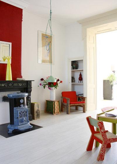 Eklektisch Wohnzimmer by Holly Marder