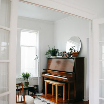 My Houzz: Minimalist Style and Original Art for a Seattle Home