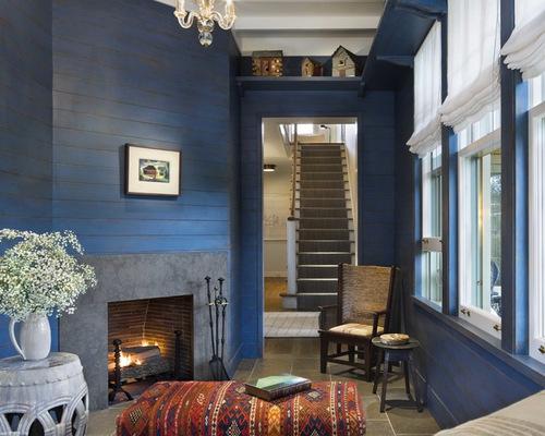 Blue Walls Houzz