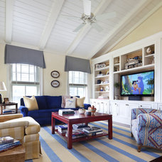 Traditional Family Room by Jeannie Balsam LLC