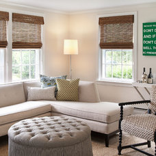 Beach Style Family Room by Annsley Interiors