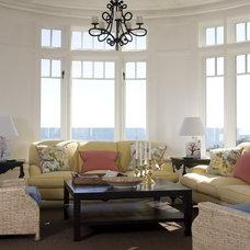 Traditional Family Room by Catalano Architects