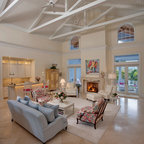 Seaside Family Room Beach Style Family Room Tampa