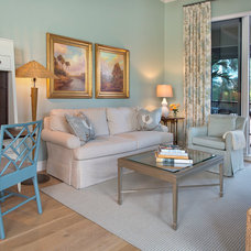 Traditional Family Room by Little Palm Design Group