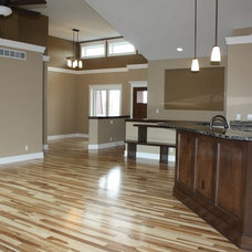 Traditional Family Room by Select Homes of Iowa