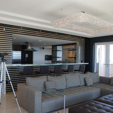 modern family room by Pepe Calderin Design- Miami Modern Interior Design