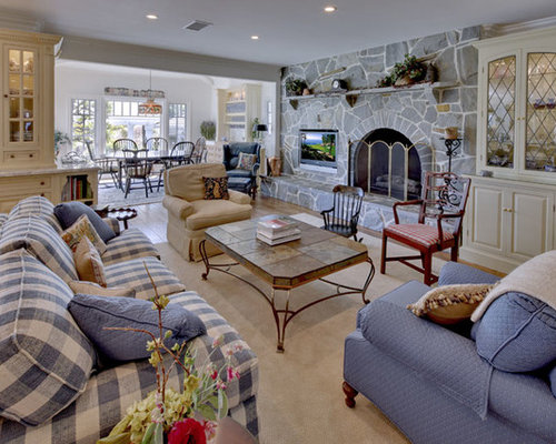 Blue Plaid Couches Home Design Ideas Pictures Remodel