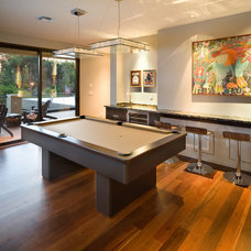 Modern Family Room by Phil Kean Design Group