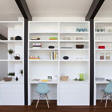 Modern Family Room by Klopf Architecture