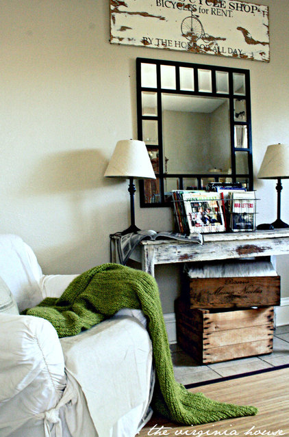 Eclectic Family Room by The Virginia House
