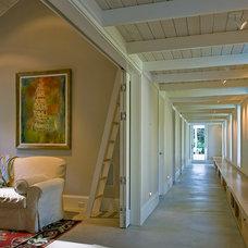 Contemporary Family Room by Wheeler Kearns Architects