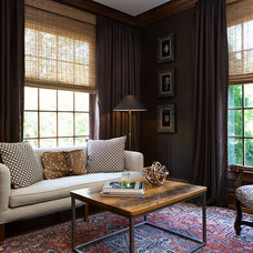 Traditional Family Room by Ashley Rohe Design
