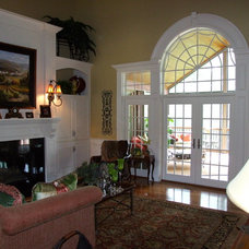Traditional Family Room by Pickett Design & Building Services