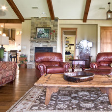 Craftsman Family Room by Millwork Visions LLC