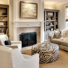 Traditional Family Room by L. Pearson Designs